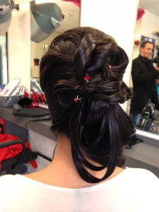 Chignon bas de cocktail