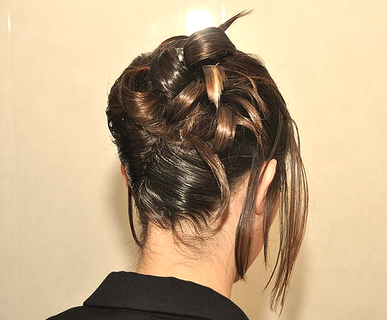 Chignon de cocktail